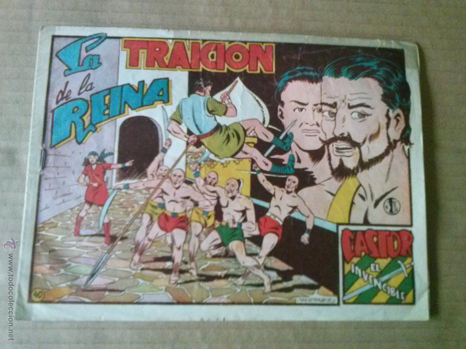 CASTOR EL INVENCIBLE Nº 40 - MARCO -T (Tebeos y Comics - Marco - Castor el Invencible)