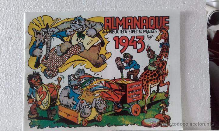 HIPO-BIBLIOTECA ESPECIAL-ALMANAQUE 1943 (Tebeos y Comics - Marco - Hipo (Biblioteca especial))