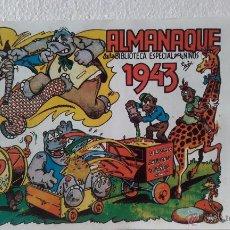 Tebeos: HIPO-BIBLIOTECA ESPECIAL-ALMANAQUE 1943. Lote 51975308