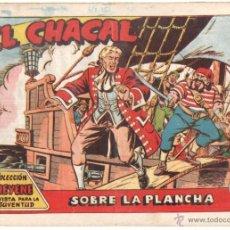 Tebeos: EL CHACAL ORIGINAL Nº 9 EDI MARCO 1959 - DIBUJOS DE MARTINEZ OSETE - BIEN CONSERVADO, VER CONTRAPORT. Lote 166839462