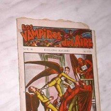 Tebeos: LOS VAMPIROS DEL AIRE Nº 36. HALLAZGO MACABRO. CANELLAS CASALS, MARC FARELL. EDITORIAL MARCO. ++. Lote 54405293