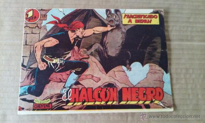 EL HALCON NEGRO Nº 8 - MARCO -TA (Tebeos y Comics - Marco - Otros)