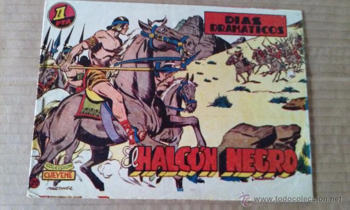 EL HALCON NEGRO Nº 20 - MARCO -TA (Tebeos y Comics - Marco - Otros)
