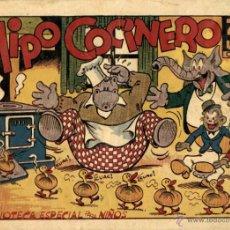 Tebeos: ARCHIVO (404): HIPO, MONITO Y FIFÍ:HIPO COCINERO (MARCO, 1942) DE E. BOIX. Lote 53845310