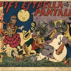 Tebeos: HIPO, MONITO Y FIFÍ: FIFÍ ESTRELLA DE LA PANTALLA (MARCO, 1942). Lote 54511746