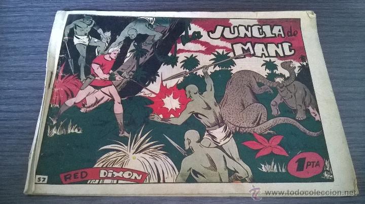 RED DIXON - PRIMERA EDICION - Nº57 - LA JUNGLA DE MANC (Tebeos y Comics - Marco - Red Dixon)