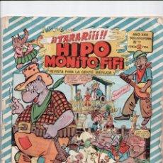 Tebeos: HIPO MONITO Y FIFI Nº 9 MARCO 1953. Lote 54694856
