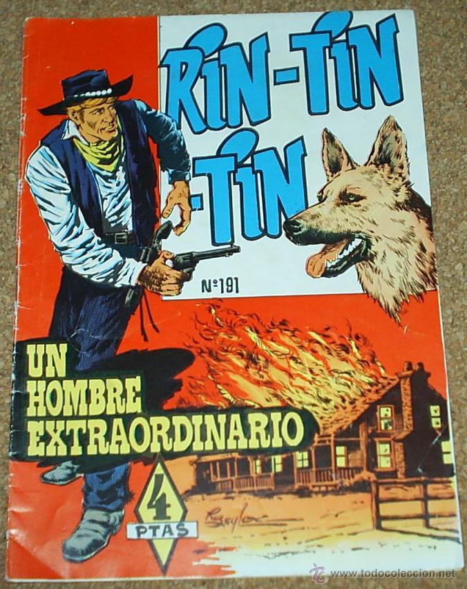 RIN TIN TIN Nº 191 - MARCO ORIGINAL (Tebeos y Comics - Marco - Rin-Tin-Tin)