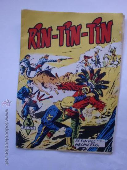 RIN TIN TIN Nº131 ORIGINAL (Tebeos y Comics - Marco - Rin-Tin-Tin)