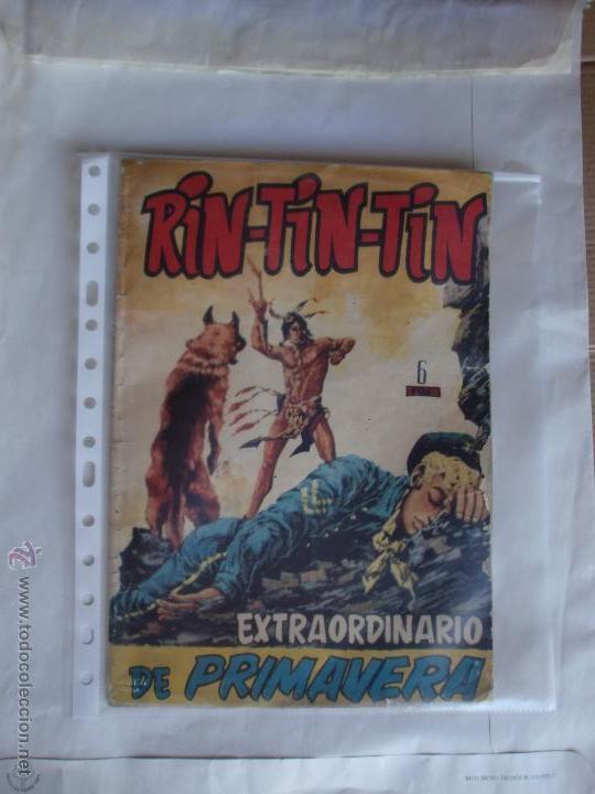 RIN TIN TIN EXTRAORDINARIO DE PRIMAVERA ORIGINAL MARCO (Tebeos y Comics - Marco - Rin-Tin-Tin)