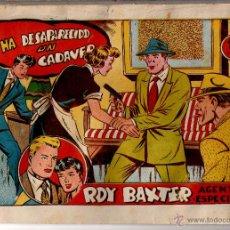 Tebeos: Nº 19 ROY BAXTER GRAFICAS MARCO 1957. CUADERNOS ORIGINALES. Lote 54933437