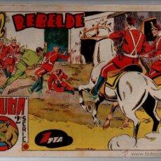Tebeos: Nº 49 EL PUMA 2ª SERIE. EDITORIAL MARCO 1953. CUADERNOS ORIGINALES. Lote 54938446