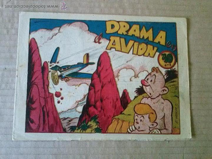 NARIZAN Nº 6 -MARCO ,ORIGINAL - 1942 ?- TA (Tebeos y Comics - Marco - Otros)