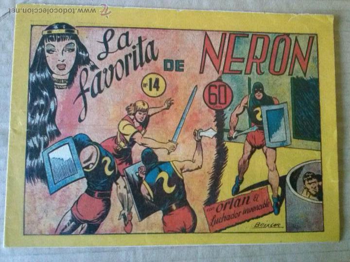 ORLAN EL LUCHADOR INVENCIBLE Nº 14 - MARCO - ULTIMO , ORIGINAL - TA (Tebeos y Comics - Marco - Otros)