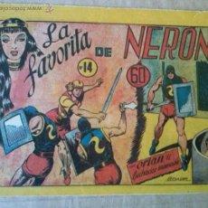 Tebeos: ORLAN EL LUCHADOR INVENCIBLE Nº 14 - MARCO - ULTIMO , ORIGINAL - TA. Lote 54997114