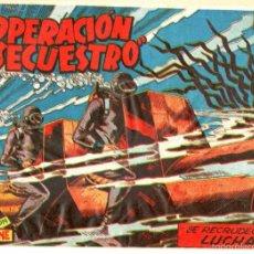 Tebeos: OPERACIÓN SECUESTRO Nº 11 EDI. MARCO 1959 ORIGINAL - DIBUJOS DE BADÍA . Lote 55342724