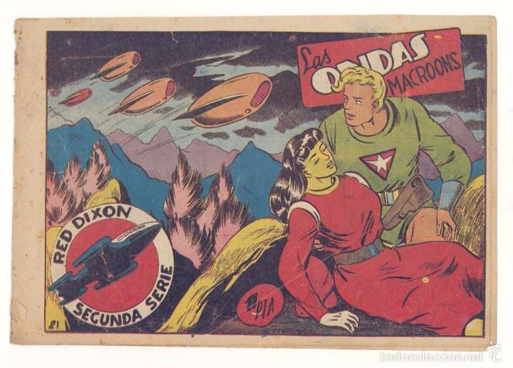 RED DIXON 2ª, NUMERO 21 , ORIGINAL (Tebeos y Comics - Marco - Red Dixon)