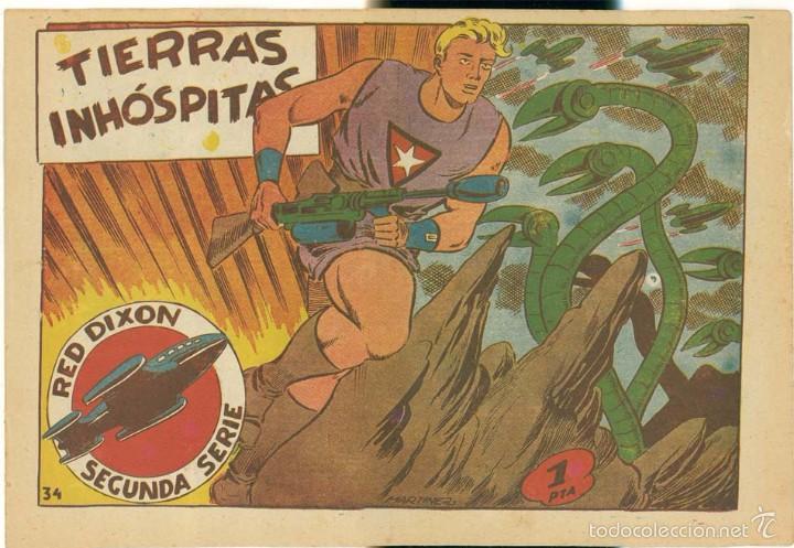RED DIXON 2ª, NUMERO 34 , ORIGINAL (Tebeos y Comics - Marco - Red Dixon)
