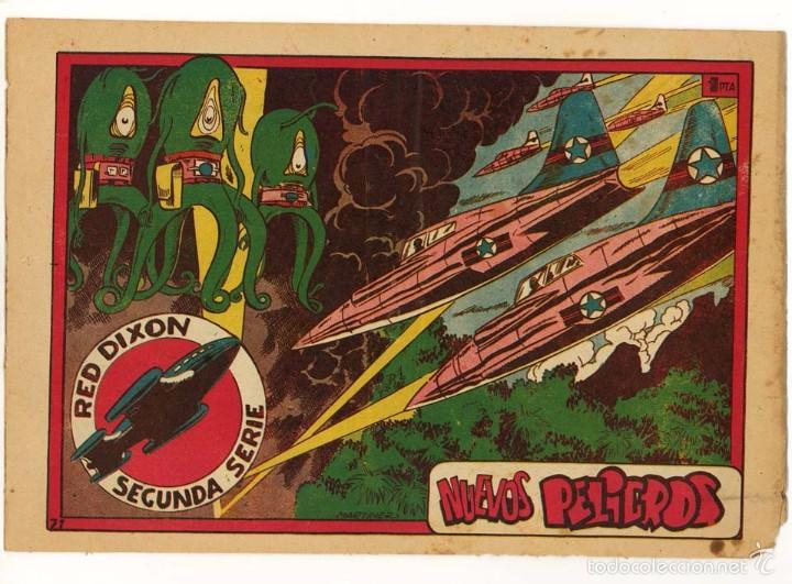 RED DIXON 2ª, NUMERO 71, ORIGINAL (Tebeos y Comics - Marco - Red Dixon)