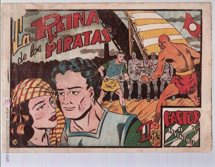 CASTOR EL INVENCIBLE Nº 38. EDITORIAL MARCO 1951. (Tebeos y Comics - Marco - Castor el Invencible)