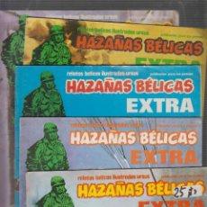 Tebeos: HAZAÑAS BELICAS EXTRA DE 17 PAGINAS, LOTE DE 6 EJEMPLARES . Lote 55787743