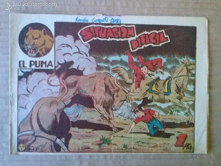 EL PUMA Nº 59 - MARCO -ORIGINAL - TA (Tebeos y Comics - Marco - Otros)