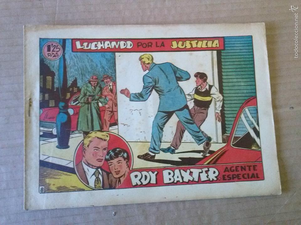 ROY BAXTER , Nº 8- MARCO ,ORIGINAL , TA (Tebeos y Comics - Marco - Otros)