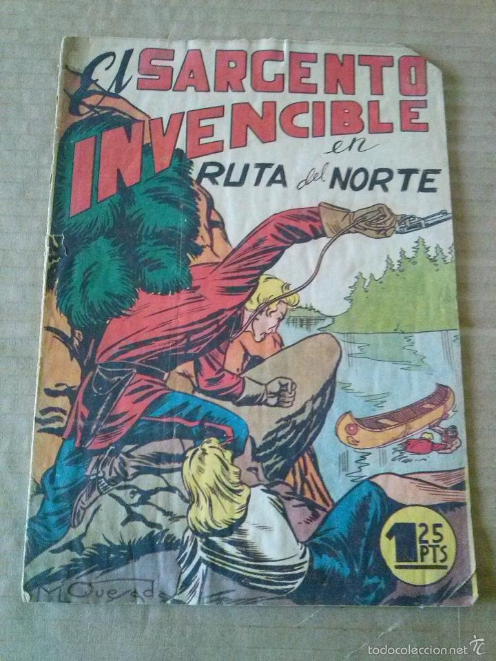 EL SARGENTO INVENCIBLE Nº 3 -MARCO -ORIGINAL -TA (Tebeos y Comics - Marco - Otros)