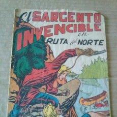 Tebeos: EL SARGENTO INVENCIBLE Nº 3 -MARCO -ORIGINAL -TA. Lote 56574482