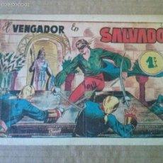 Tebeos: EL VENGADOR Nº 4 - MARCO 1951- ORIGINAL - TA. Lote 57321874