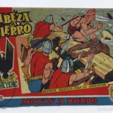 Tebeos: CÓMIC CABEZA DE HIERRO - Nº 5. MOTÍN A BORDO - ED. MARCO, AÑOS 50 - MEDIDAS 23,5 X 16 CM. Lote 57382886