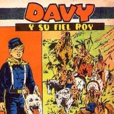 Tebeos: DAVY Y SU FIEL ROY (MARCO) Nº 270 PRIMERO DE LA SERIE. Lote 147840057