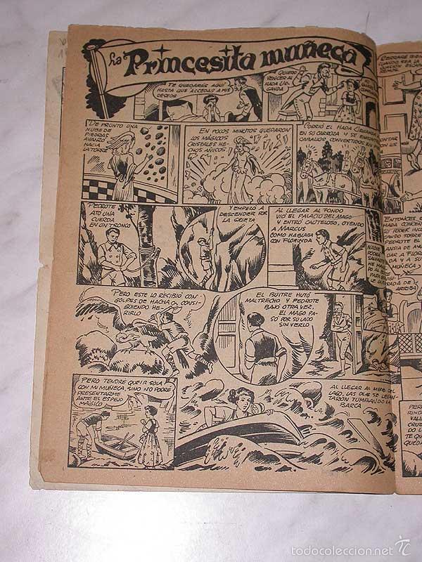 Tebeos: MERCHE Nº 9. HISTORIETAS CÓMICAS PARA NIÑAS. BEAUMONT, OSETE, RIZO, BOIX. MARCO, 1950. ++++ - Foto 4 - 58270059