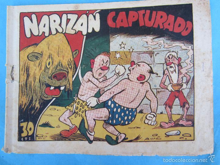 NARIZAN CAPTURADO , AYNE , EDITORIAL MARCO 1942 (Tebeos y Comics - Marco - Otros)