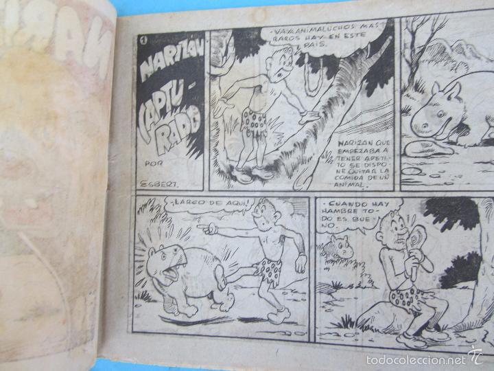 Tebeos: narizan capturado , ayne , editorial marco 1942 - Foto 2 - 58279018