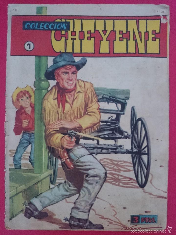 ANTIGUO COMIC COLECCION CHEYENE Nº 1 AÑO 1959 - MARCO ... R-3192 (Tebeos y Comics - Marco - Otros)