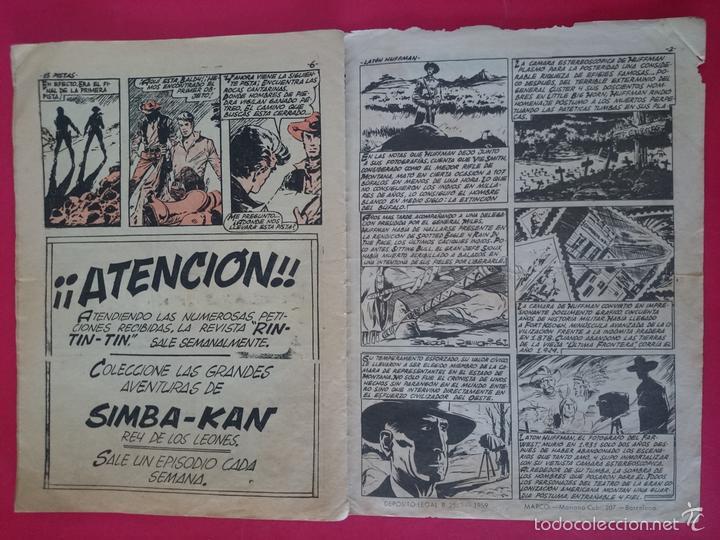 Tebeos: ANTIGUO COMIC COLECCION CHEYENE Nº 1 AÑO 1959 - MARCO ... R-3192 - Foto 6 - 58334091