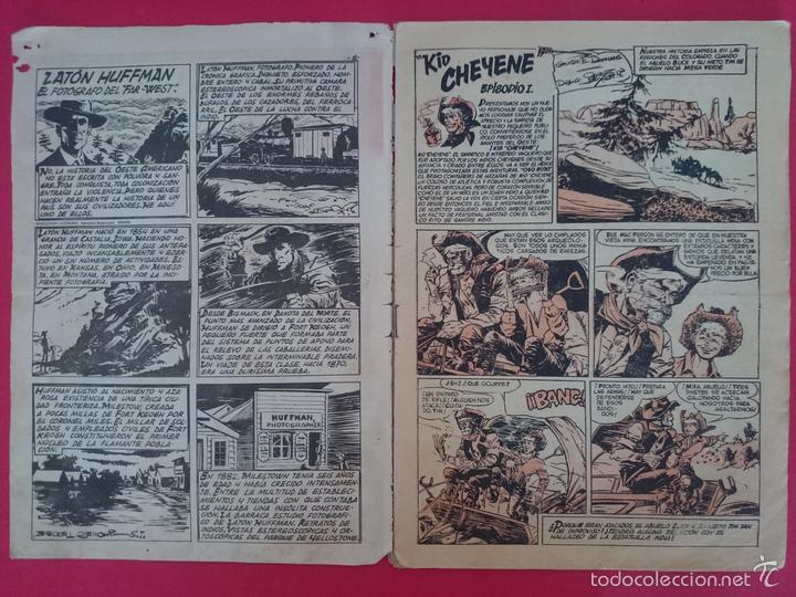 Tebeos: ANTIGUO COMIC COLECCION CHEYENE Nº 1 AÑO 1959 - MARCO ... R-3192 - Foto 7 - 58334091