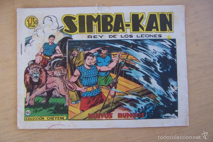 Tebeos: marco simba-kan nº 8 - 40 y 57 serie cheyene - Foto 3 - 34265653