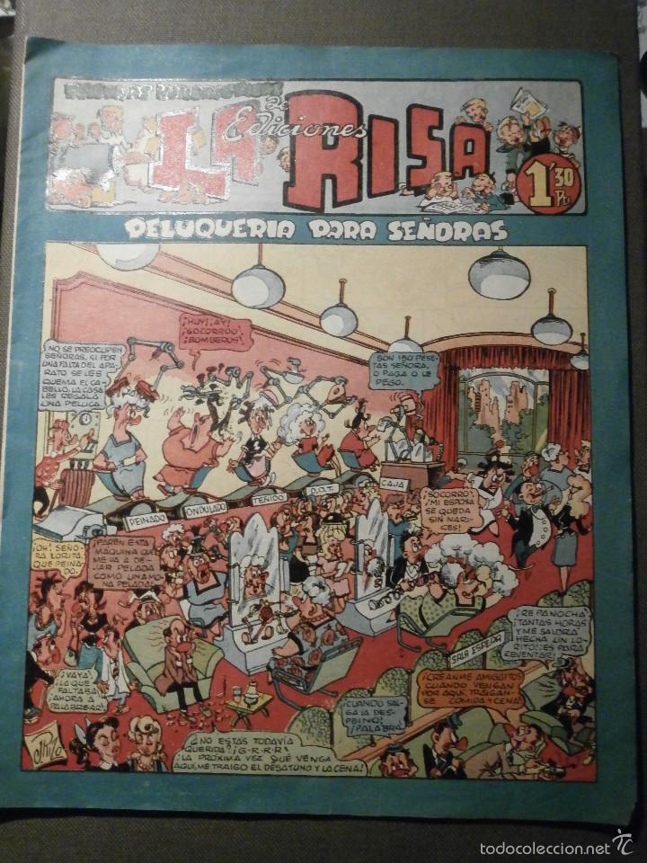 LA RISA - Nº 16 - PELUQUERIA DE SEÑORAS - EDITORIAL MARCO - MUY BUEN ESTADO - 1,30 PTS (Tebeos y Comics - Marco - La Risa)