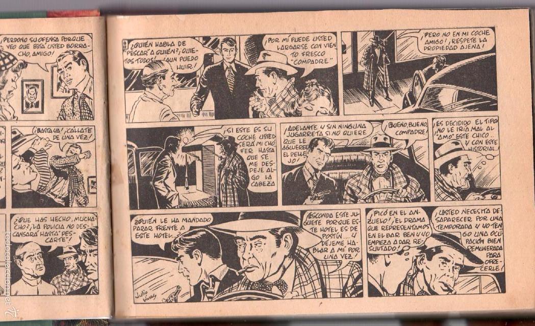 Tebeos: ALAN DUFF ORIGINAL COMPLETA 1 AL 30 EDI. MARCO 1952 DIBUJOS JULIO VIVAS, MUY BIEN CONSERVADOS, VER I - Foto 6 - 61220411