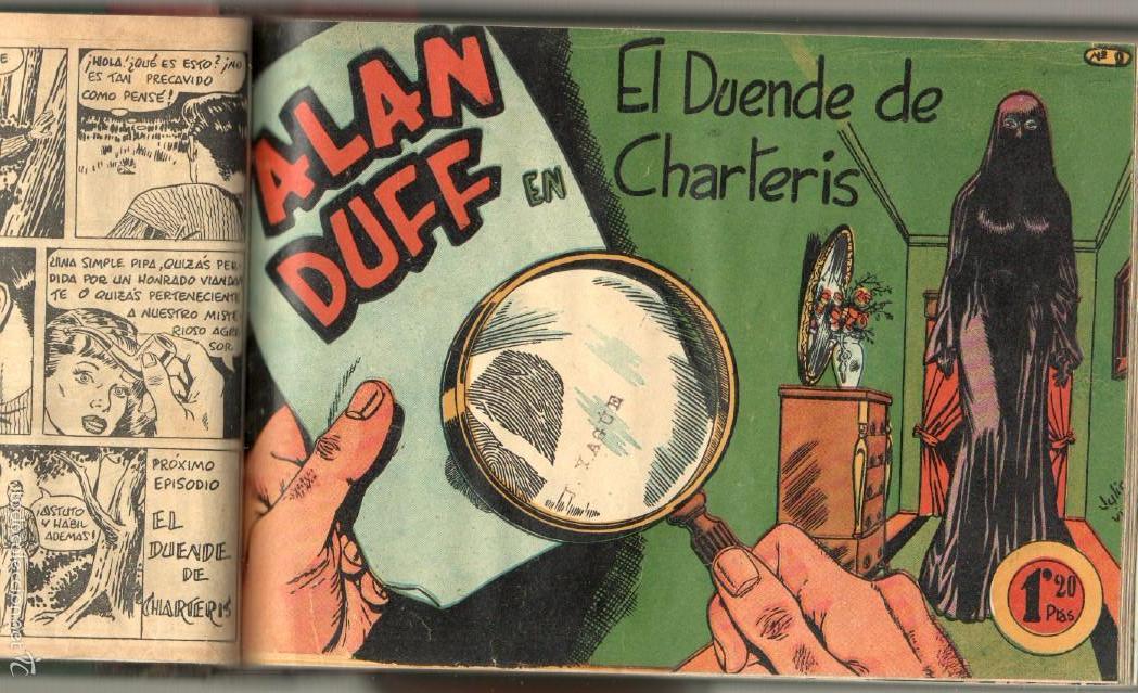 Tebeos: ALAN DUFF ORIGINAL COMPLETA 1 AL 30 EDI. MARCO 1952 DIBUJOS JULIO VIVAS, MUY BIEN CONSERVADOS, VER I - Foto 19 - 61220411