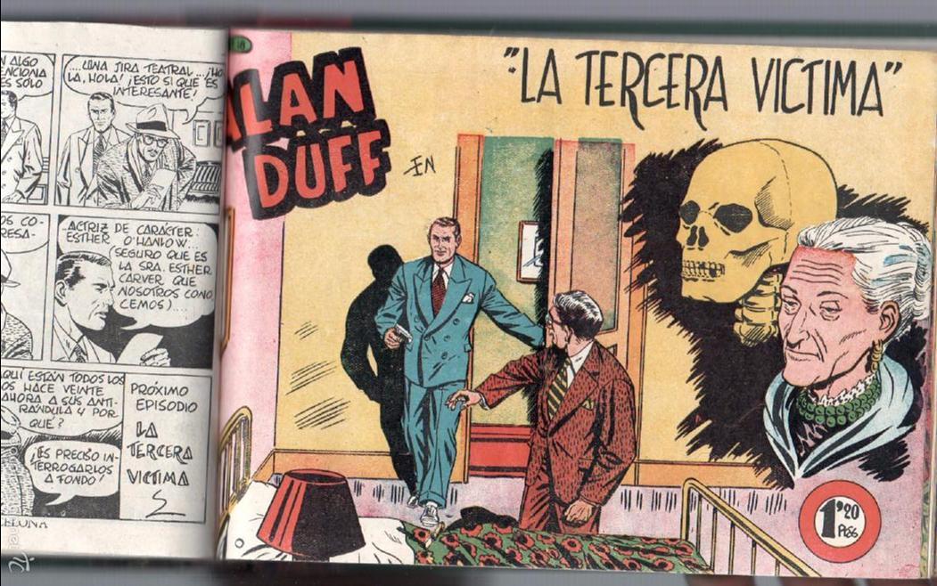Tebeos: ALAN DUFF ORIGINAL COMPLETA 1 AL 30 EDI. MARCO 1952 DIBUJOS JULIO VIVAS, MUY BIEN CONSERVADOS, VER I - Foto 33 - 61220411