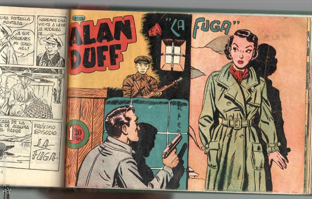 Tebeos: ALAN DUFF ORIGINAL COMPLETA 1 AL 30 EDI. MARCO 1952 DIBUJOS JULIO VIVAS, MUY BIEN CONSERVADOS, VER I - Foto 43 - 61220411