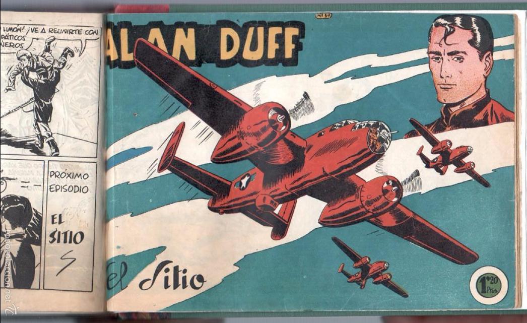 Tebeos: ALAN DUFF ORIGINAL COMPLETA 1 AL 30 EDI. MARCO 1952 DIBUJOS JULIO VIVAS, MUY BIEN CONSERVADOS, VER I - Foto 58 - 61220411