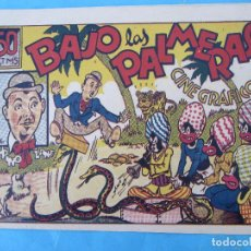 Tebeos: CINE GRAFICO , N. 2 BAJO LAS PALMERAS , EDITORIAL MARCO 1944. Lote 61410771
