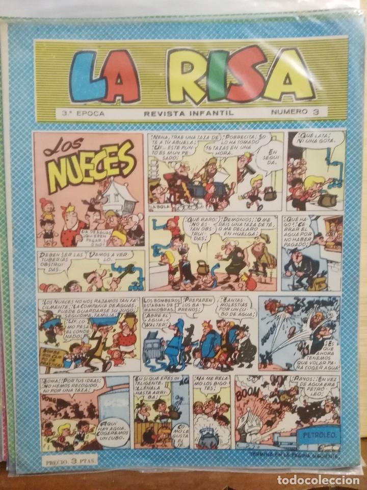 LA RISA - 3ª ÉPOCA, Nº 3 - REVISTA INFANTIL (Tebeos y Comics - Marco - La Risa)