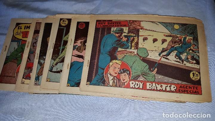 ROY BAXTER - LOTE DE 18 NUMEROS (Tebeos y Comics - Marco - Otros)