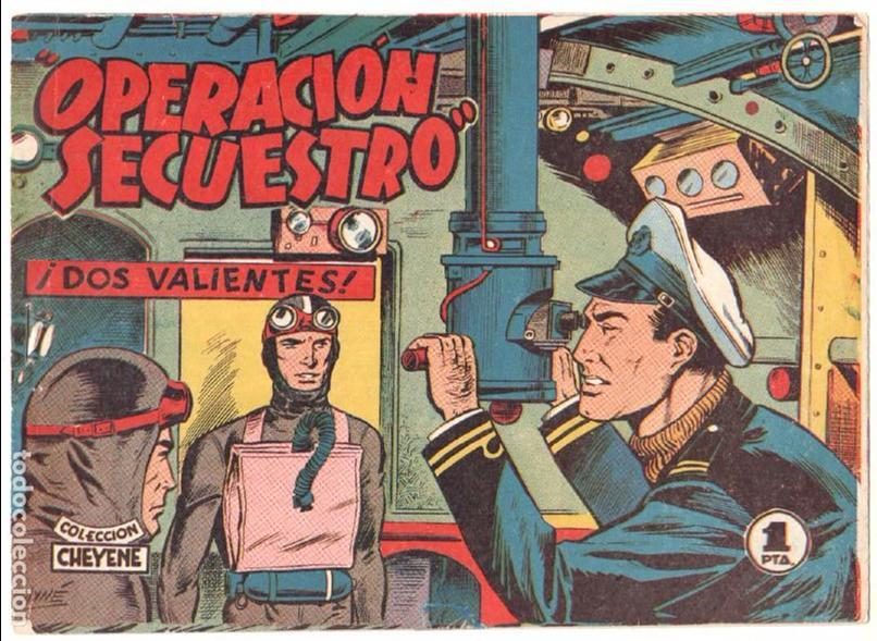 Tebeos: OPERACIÓN SECUESTRO ORIGINALES, LOTE - 1 - 4 - 5 - 10 - 11 - 12 - 13 - 14 Y ÚLTIMO , EDI MARCO 1959 - Foto 2 - 65423595