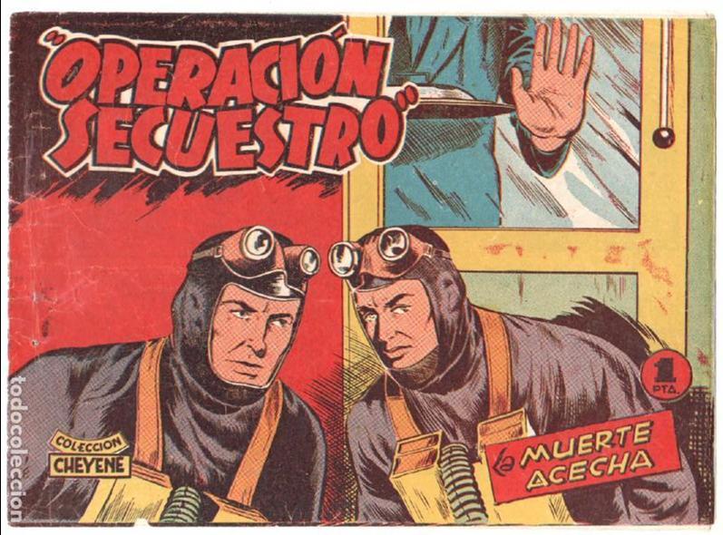 Tebeos: OPERACIÓN SECUESTRO ORIGINALES, LOTE - 1 - 4 - 5 - 10 - 11 - 12 - 13 - 14 Y ÚLTIMO , EDI MARCO 1959 - Foto 5 - 65423595